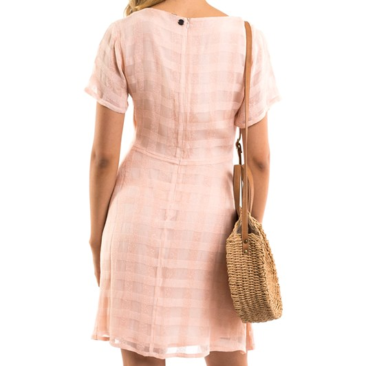 All About Eve Jacquard Check Dress