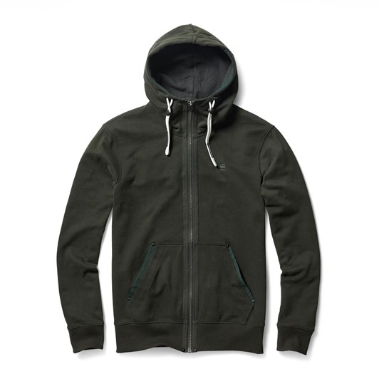 G-Star Poton Core Zip Thru Hooded Sweatshirt