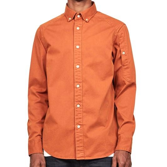 G-Star Stalt L/S Bttn Down Pkt Straight Shirt