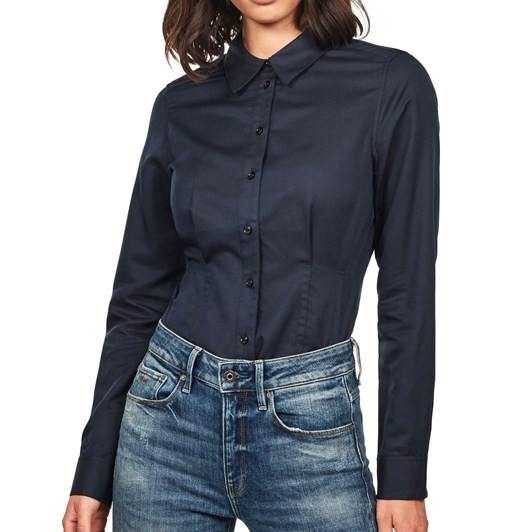 G-Star Syenite L/S Slim Shirt Wmn