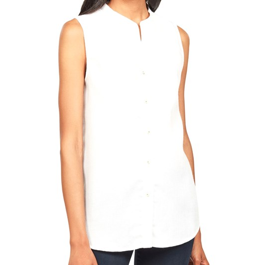 G-Star Pleated Bib S/Less Shirt Wmn
