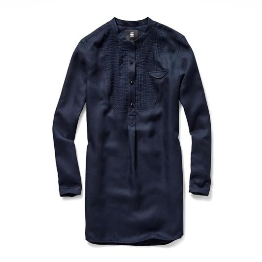 G-Star Pleated Bib L/S Tunic Shirt Wmn