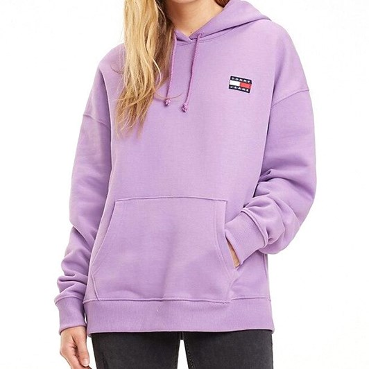 Tommy Jeans Badge Fleece Hoodie