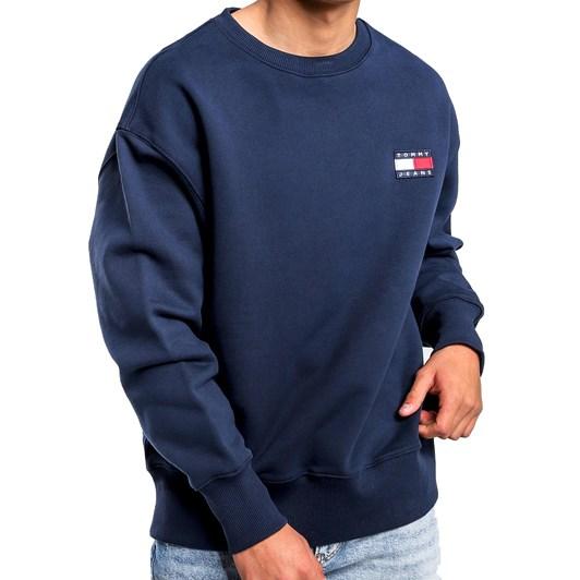 Tommy Jeans Heavyweight Knit Comfort Fit Sweatshirt