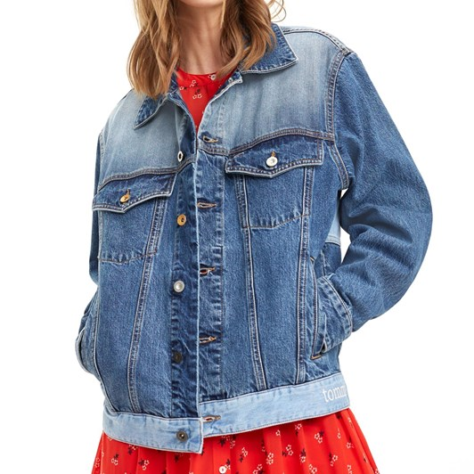 Tommy Jeans Oversized Trucker Jacket