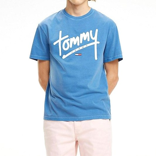 Tommy Jeans Handwriting Logo T-Shirt