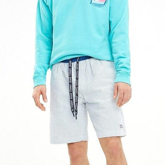 Tommy Jeans Stripe Cotton Seersucker Short