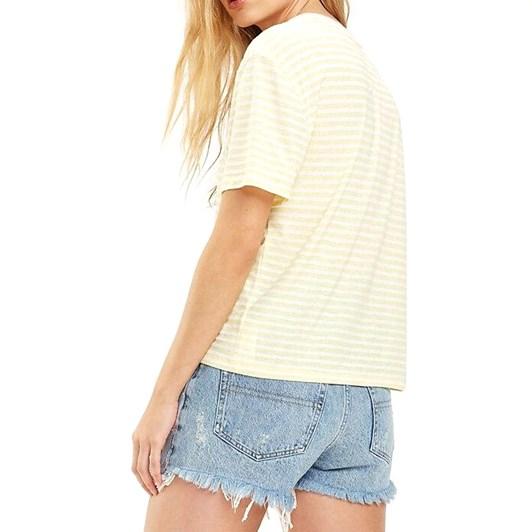 Tommy Jeans Contrast Crew Neck Stripe T-Shirt