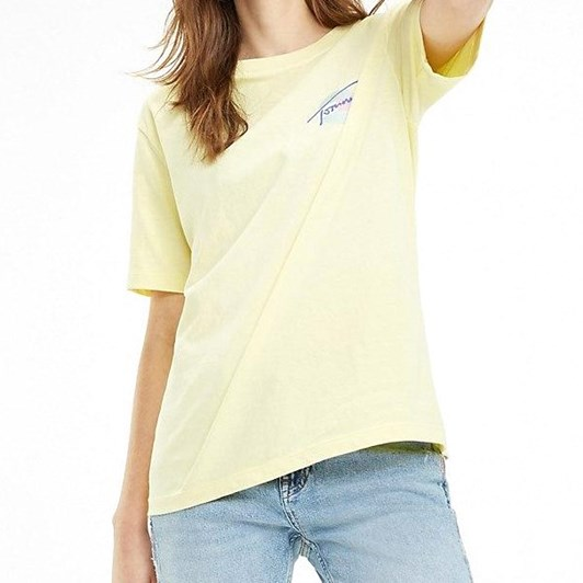 Tommy Jeans Garment Dyed Boyfriend Fit T-Shirt