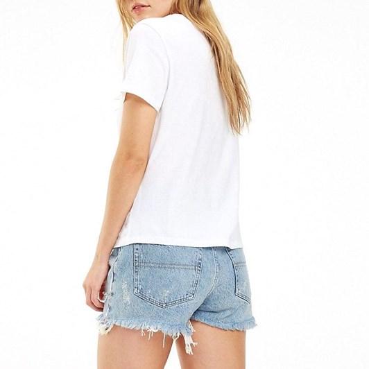 Tommy Jeans 1985 Logo Organic Cotton T-Shirt