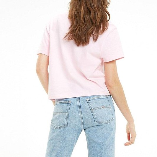 Tommy Jeans Cropped Logo T-Shirt