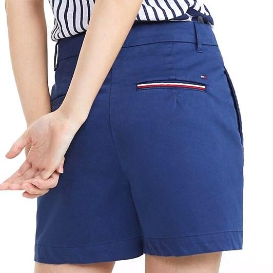 Tommy Hilfiger Essential High Waist Cotton Shorts