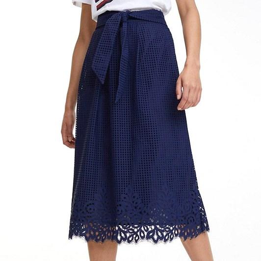 Tommy Hilfiger Entredeux Lace Skirt