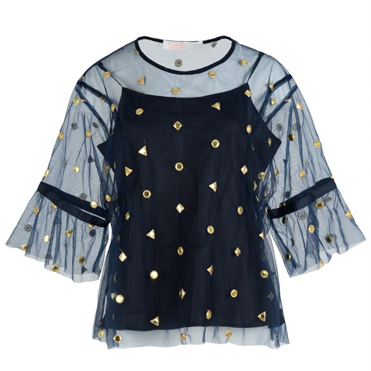Coop Frill And Grace Top