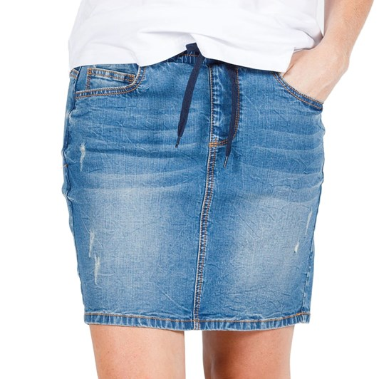 Home-Lee Denim Skirt