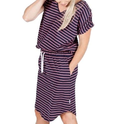 Home-Lee V Neck Dress