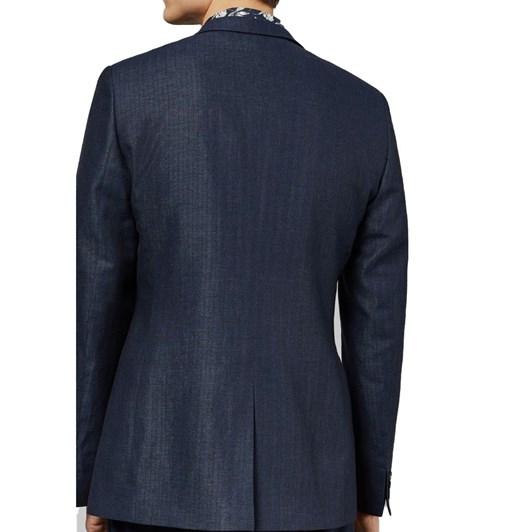 Ted Baker BALROM Linen Herringbone Jacket