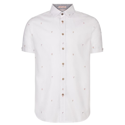 Ted Baker Ss Cocktail Coupe Shirt