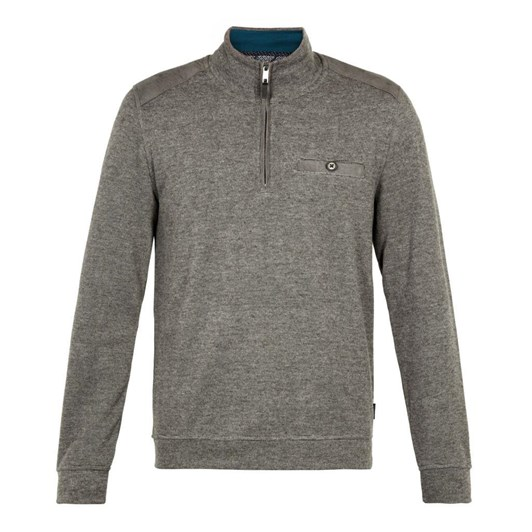 Ted Baker DECC Ls Brushed Jersey Funnel Neck