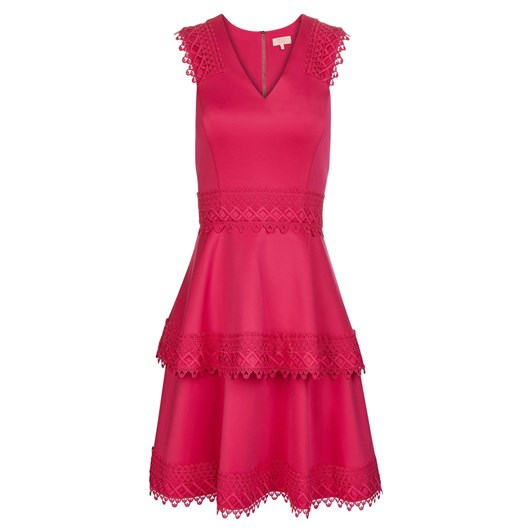 Ted Baker Lace Tiered Skater Dress