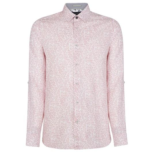 Ted Baker LEEMAR Ls Floral Print Shirt