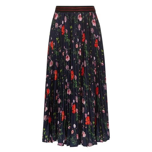 Ted Baker Hedgerow Pleated Midi Skirt
