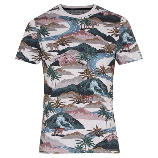 Ted Baker MULGA Ss Tiger Scene Printer T-Shirt