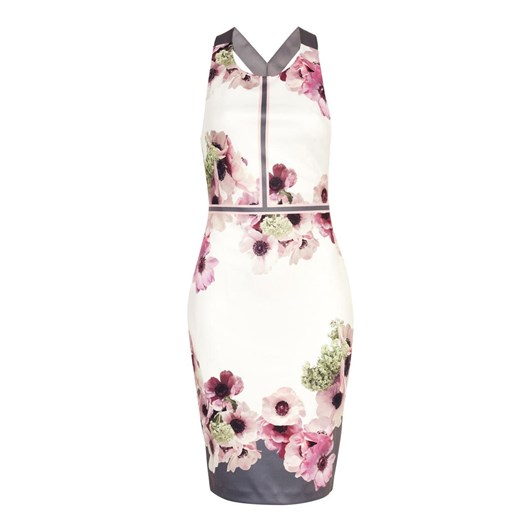 Ted Baker NANINA Neopolitan Buckle Detail Dress