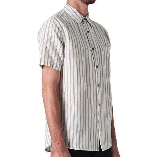 Neuw Linen Stripe S/S Shirt