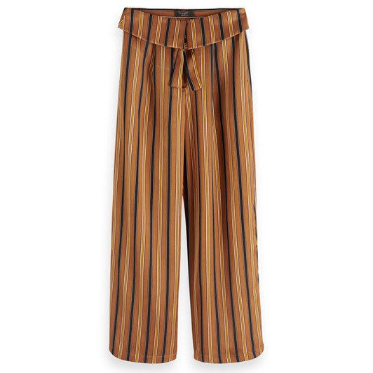 Maison Cropped Wide Leg Pants