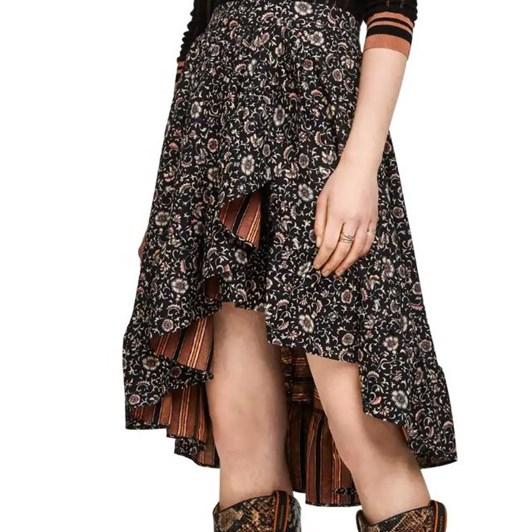 Maison Printed Skirt