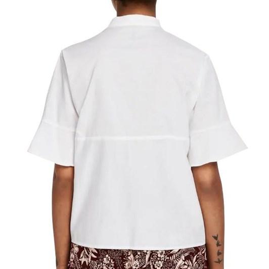 Maison Crispy Cotton Short Sleeve Top