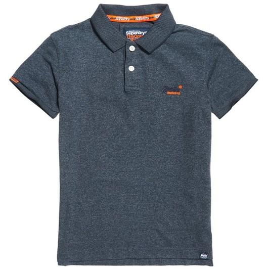 Superdry Orange Label Jersey Polo