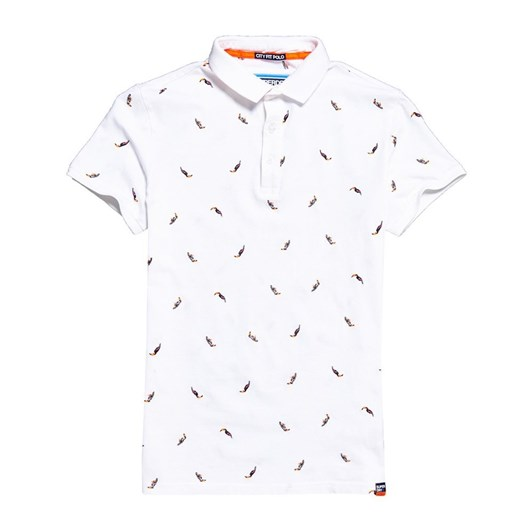 Superdry City State Embroidery Polo