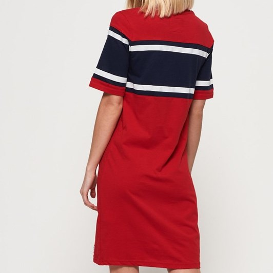 Superdry Colour Block T-Shirt Dress