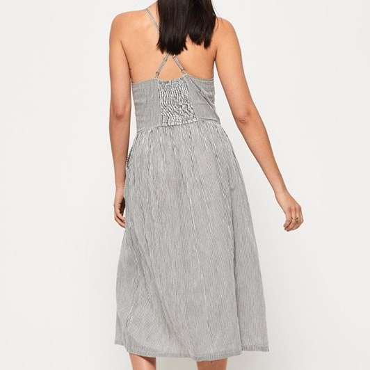 Superdry Jayde Tie Front Midi Dress