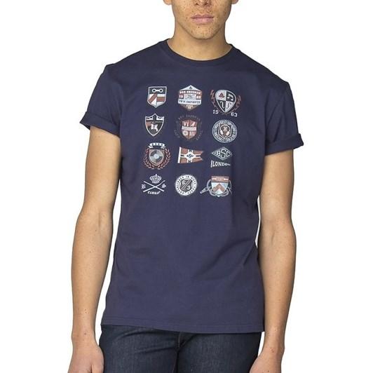 Ben Sherman Ivy Badges T-Shirt