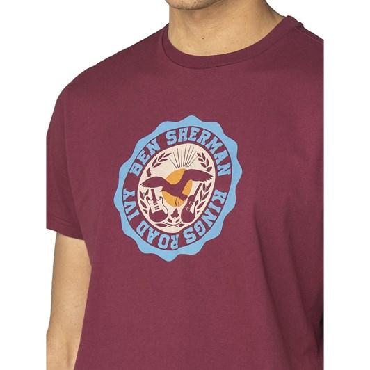 Ben Sherman Kings Road Target T-Shirt