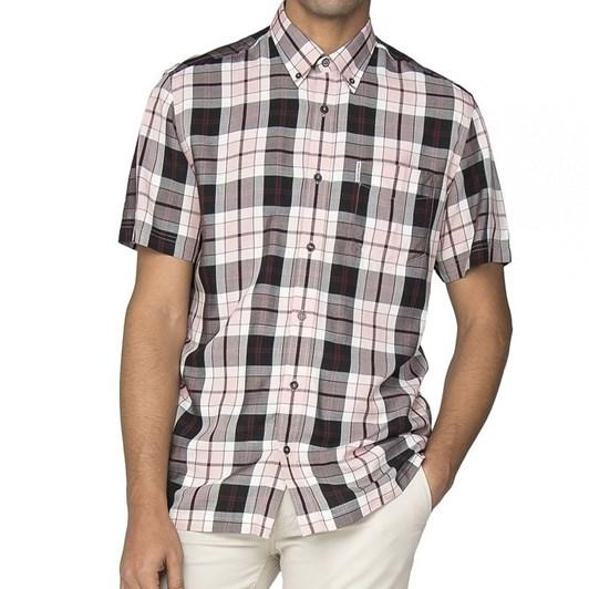 Ben Sherman Ss Viscose Check Shirt