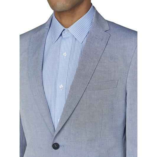 Ben Sherman Blue Chambray Jacket