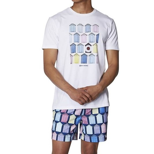 Ben Sherman Beach Hut Tee