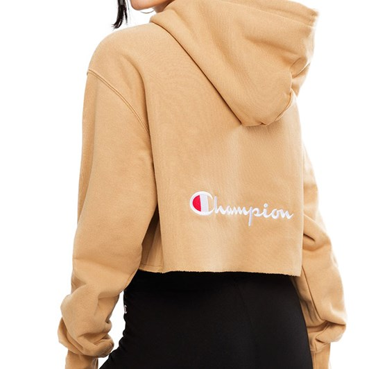Champion Reverse Weave Terry Crop Hoodie