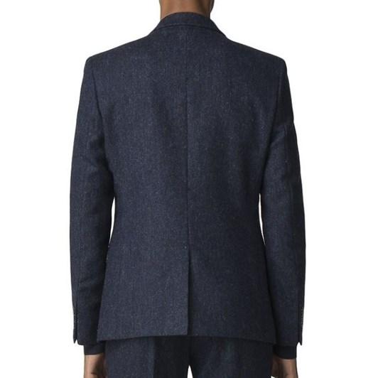 Ben Sherman British Blackened Blue Donegal Jacket