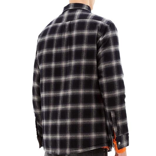 Ksubi Strata Quilted Long Sleeve Shirt Check