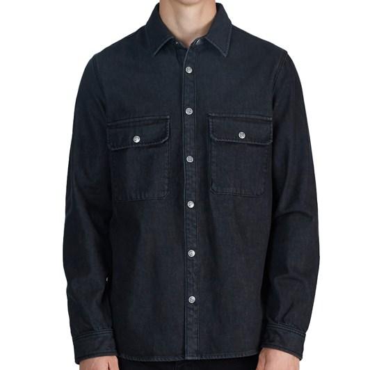 Ksubi Shockwave Shirt - Untouched Black