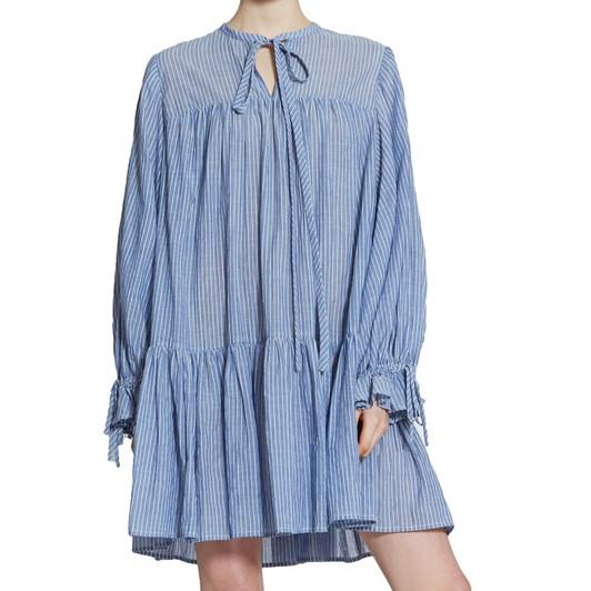 Karen Walker Salt Stripe Dress