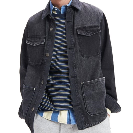 Tommy Jeans Pure Cotton Cargo Jacket