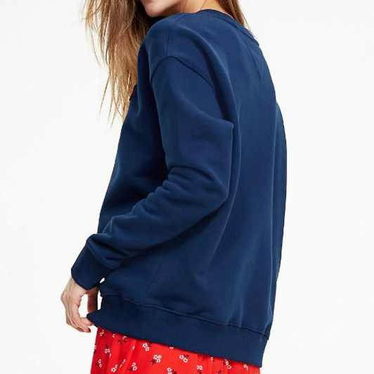 Tommy Jeans Logo Relaxed Fit Sweatshirt