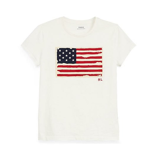 Polo Ralph Lauren Flag Jersey Graphic T-Shirt