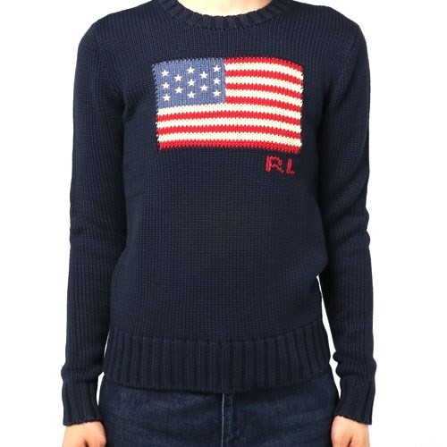 Polo Ralph Lauren Polo Long Sleeve Flag Sweater